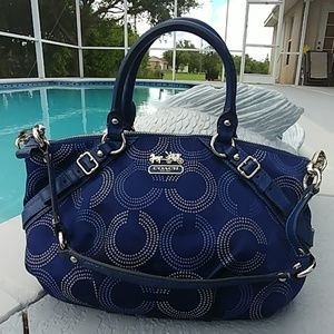 Coach Sophia Dot Op C Madison satchel 15935